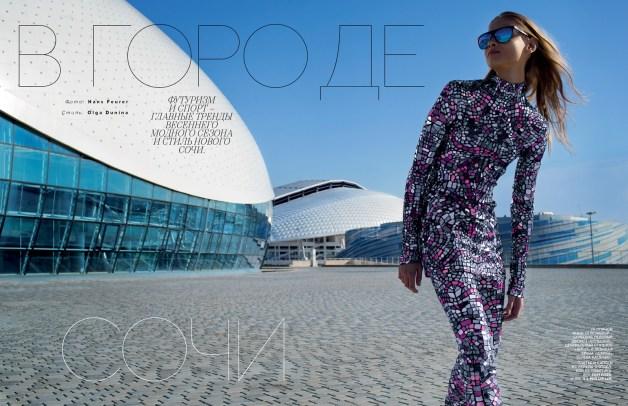 Anna Selezneva By Hans Feurer For Vogue Russia1