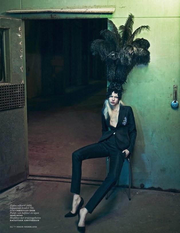 Ola Rudnicka for Vogue Netherlands 20