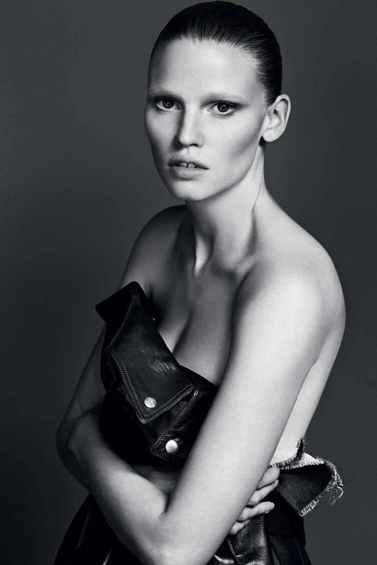 Lara Stone by Erik Torsensson for Industrie #7 2