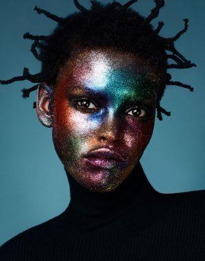 Amilna Estevao in 'Glitter Bomb' by Jason Kim for Models.com 9