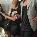 Xavier Delarue en pleine interview
