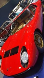 Rétromobile 2017 : 1972 Lamborghini Miura SV @ Artcurial