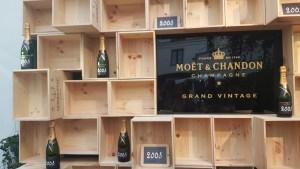 Maison Moët @ 58 rue Saint Lazare, cuvée Vintage 2008