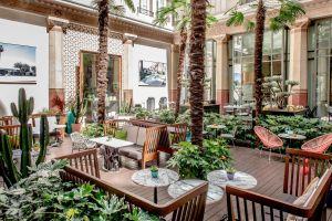 Patio d'été - Palm Springs @ Prince de Galles Paris