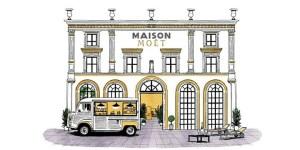 Maison Moët @ 58 rue Saint Lazare