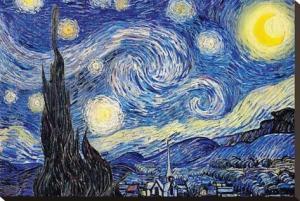 Van Gogh - nuit étoilée