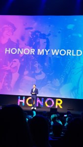 Présentation à la Salle Pleyel du Honor View20