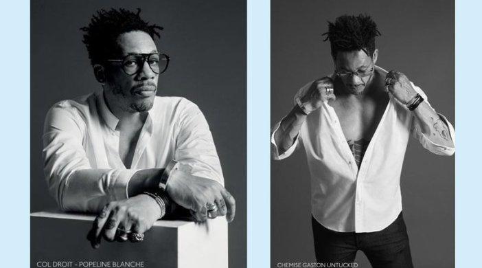 Lancement des chemises Figaret Paris x Joey Starr