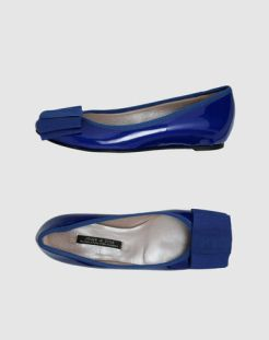 JOUER-le-style-BLUE-flats-with-bow-at-yoox-on-fdm-fashiondailymag.com-brigitte-segura