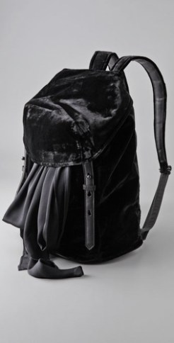 alexander-wang-velvet-backpack-in-BLACK-we-LOVE-on-FDM-www.fashiondailymag.com-by-brigitte-segura