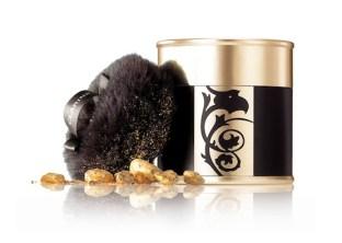 CLARINS-Gold-Powder-Box-in-GOLDEN-beauties-as-GIFTS-on-FashionDailyMag.com-brigitte-segura