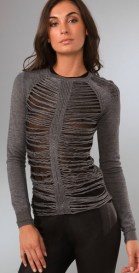 DSQUARED-frayed-front-and-sleeve-sweater-at-shopbop-on-fashiondailymag.com-brigitte-segura
