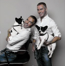 DSQUARED2 for DOGS 2 now on www.fashiondailymag.com brigitte segura