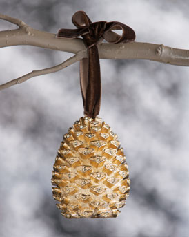 LObjet-Pinecone-holiday-ornament-at-NM-in-HOME-for-the-HOLIDAYS-on-fashion-daily-mag