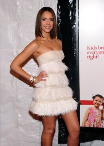 "Jessica Alba attendS the world premiere of ""Little Fockers"" at Ziegfeld Theatre December 2010 NYC Photo Jamie McCarthy/Getty Images for Paramount Pictures in STYLE ICONS 2010 ON FASHIONDAILYMAG"