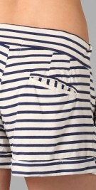 MONROW-striped-mini-shorts-at-ShopBop-in-BLEU-BLANC-rouge-to-SUNNY-on-FDM