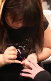 Zoya-nails-at-MBFW-at-PORTER-GREY-f2011-photo6-publicist-on-fashiondailymag