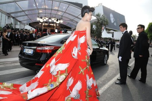 atmospher at Opening Ceremony of the 64st Cannes Film Festival with renault latitude photo image.net on FashionDailyMag