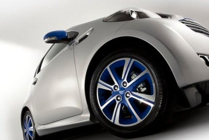 ASTON MARTIN x COLETTE cygnet bespoke car on FashionDailyMag