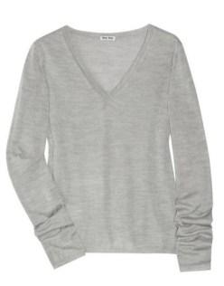 MIU-MIU-cashmere-silk-Vneck-sweater-FDM-Loves