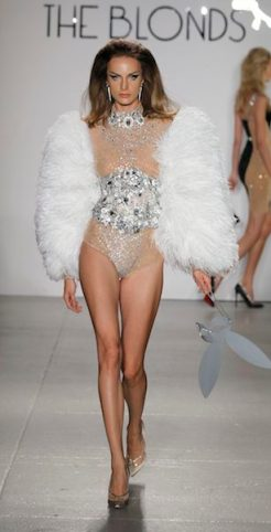 THE BLONDS SS12 NEW YORK 9/14/2011