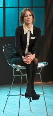 ALEXA CHUNG new show on FashionDailyMag