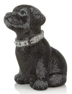 JUDITH LIEBER doggy bag at harrods on FashionDailyMag