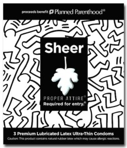 KEITH HARING for proper attire condoms on fashiondailymag