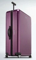 RIMOWA luggage travel bag on FashionDailyMag