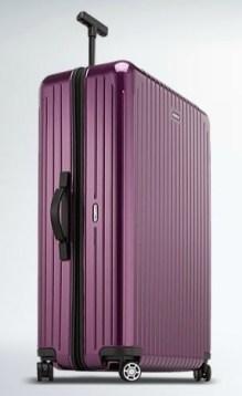 RIMOWA luggage travel bag on FashionDailyMag