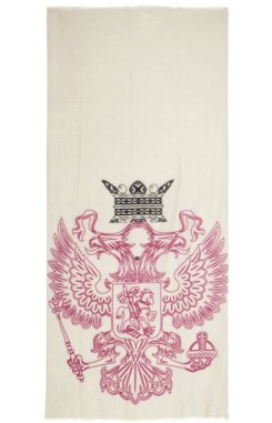 WE ARE OWLS printed cashmere scarf NaP FashionDailyMag cashmere for the holidays