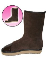 bootie pies peep-toe boots for pedicure FashionDailyMag loves
