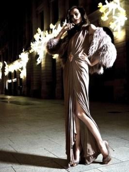 fdmLOVES dress by AZARRO at StyleBop on FASHIONDAILYMAG holiday brigitte segura