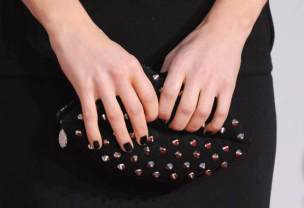 lulu guinness studs and lips bag PARIS HOLIDAY on FashionDailyMag