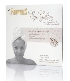 FROWNIES under eye   eye lid collagen patches FashionDailyMag beauty bits