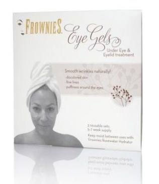 FROWNIES under eye | eye lid collagen patches FashionDailyMag beauty bits