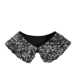 karl sequined collar FashionDailyMag loves copy