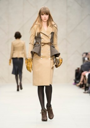 Burberry Prorsum Womenswear Autumn Winter 2012 look 29 sel brigitte segura