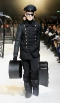 Moncler Gamme Rouge & MYKITA glasses FashionDailyMag sel 18 PFW