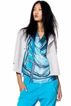 spring 2012 benetton FASHION DAILY MAG loves aqua pants
