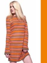 tangerine knits benetton spring 2012 FDM LOVES