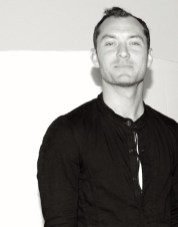 JUDE LAW at MAXMARA vogue for NATASHA LAW EXHIBITION