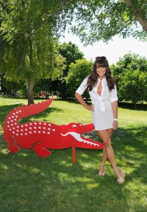 LEA MICHELLE lacoste COACHELLA april 2012
