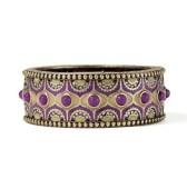 LIA SOPHIA sari bracelet purple for music festival dressing