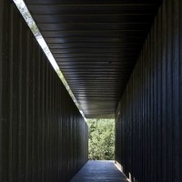 TADAO ANDO architecture exhibition at DUVETICA milan