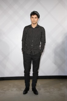rhydian vaughan wearing burberry