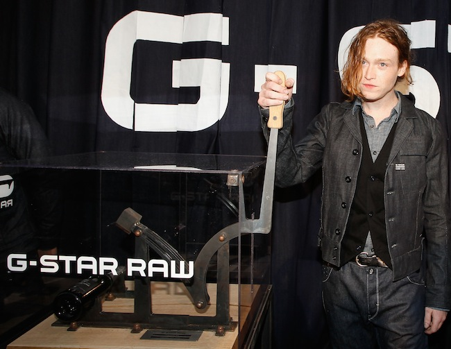 Actor Caleb Landry Jones G-Star RAW Store Opening - 65th Annual Cannes Film Festival