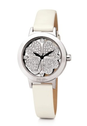 FOLLI FOLLIE hearts watch white FashionDailyMag mothers day guide 2012
