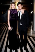 Gabriella Wilde and Roo Panes wearing Burberry to The Metropolitan Museum of Art 2012 Costume Institute Benefit in NY, 07.05.12