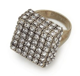 LIA SOPHIA cubist ring FashionDailyMag